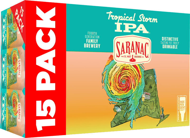 Saranac Tropical Storm IPA Box