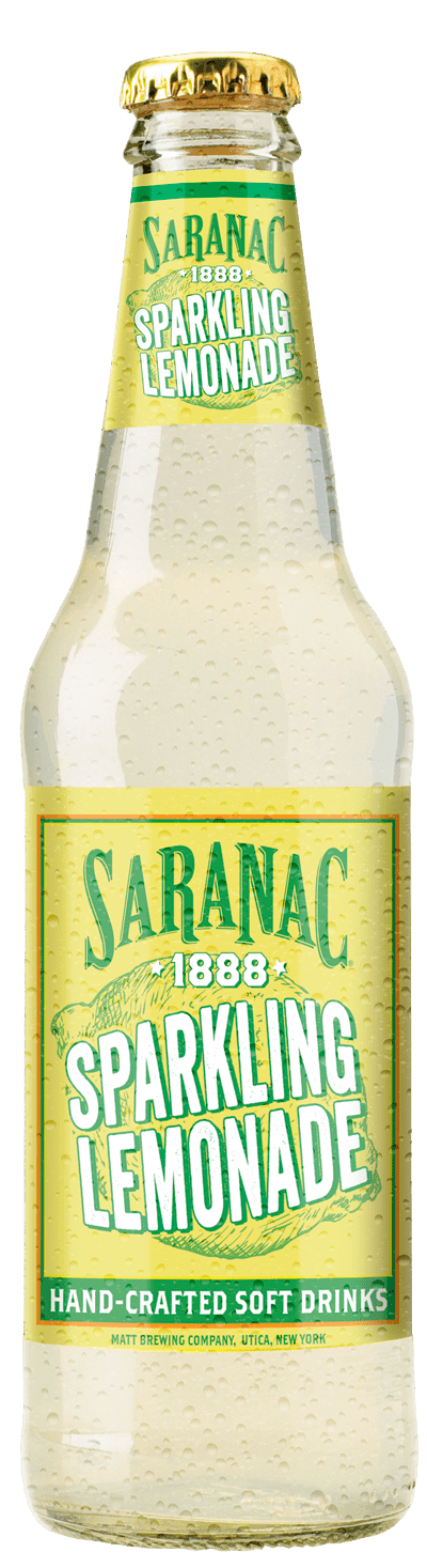 Saranac 1888 Sparkling Lemonade Bottle