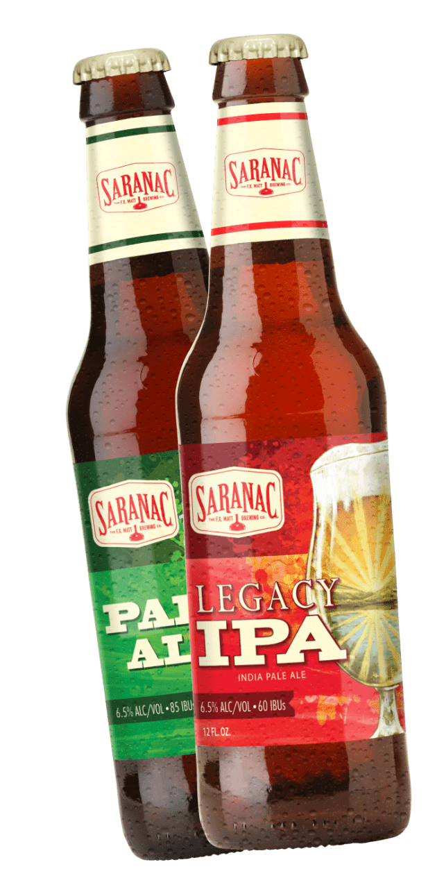 Legacy IPA & Pale Ale bottle mockups